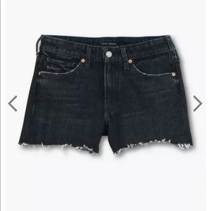 LUCKY BRAND Black Boyfriend Jean Short